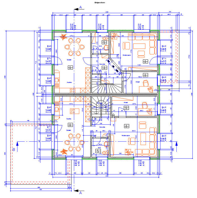 Cad floor plan software for mac thefloors co for Floor plan drafting software