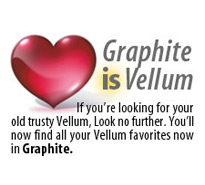 Graphite 2D/3D CAD software is Vellum